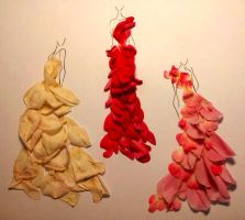Petal Dresses by alexaink