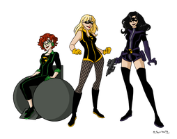 Birds of Prey Redesigns 1 by msciuto