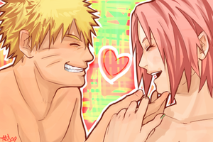 NaruSaku . You And Me by starchiishio