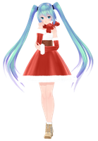 Tda Christmas Miku [download] by MajesticFork