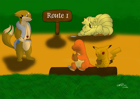 At Route 1 by Threehorn
