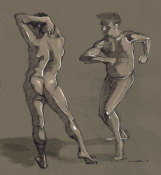 Quick figure drawing by ronaldkaiser