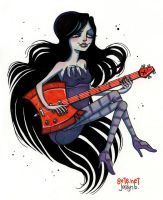 Marceline the Vampire Queen by yfrontninja