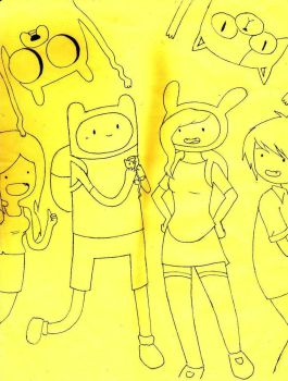 Adventure Time XD by MikaValentine26