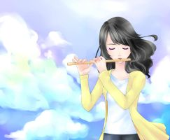 Kotoha: the sound of the flute by suyupu