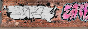 Throw-Up Graffiti Collab by sevasone
