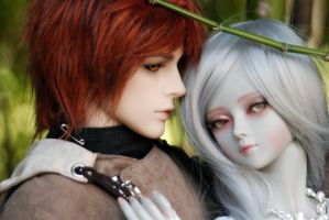 Lovely Pair 01 by deVIOsART