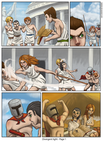 Divergent light - page 1 by Keilink