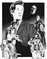 Doctor Who by DMThompson