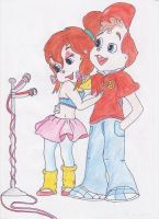 Alvin and Brittany by brittanyandalvin