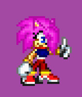 Kira The Hedgehog Sprite by NSMBXomega