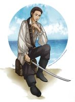 Will Turner - pirates of the Caribbean by Angels-Leaf