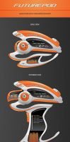 Futurepod - Mediaplayer Skin by orioncreatives