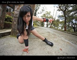 Tifa's Stunt by reinfall