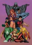 Teen Titans Colors by Amaryth