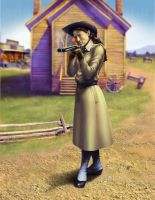 Annie Oakley by addichim