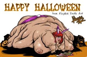 Happy Halloween by AloysiusEroticArt