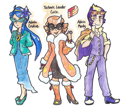 Team Tectonic by Coonae