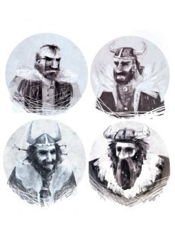 viking sketches by o-w-l-y
