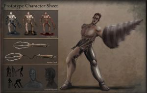 Prototype Character Sheet by Jessimie