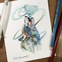 Howl Sketch Card by Lucky978