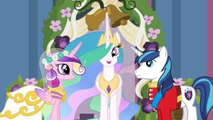 Princess Cadence and Shining Armor's wedding by SawyerMoonKitty