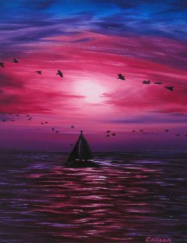 Sailing by crazycolleeny