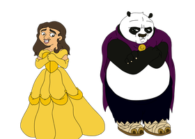 Chrissy and Po__'Beauty and the Beast' by vcm1824