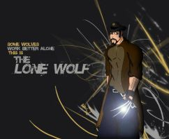 They call him Lone Wolf by Adder24