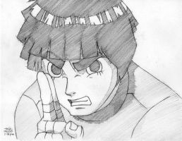 rock lee by reijr