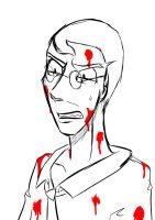 Medic is disgusted. by Kanjito4You