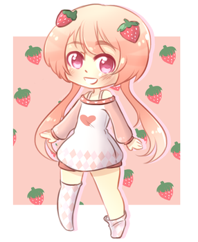 Strawberry - title here by shatteredsoul8612