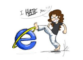 I HATE... by Anto90