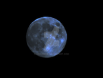 Full Blue Moon by Hallonnie
