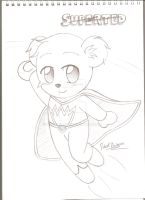 Sketch: Superted by Robie-Chan