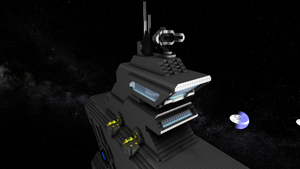Freigher command tower by Dimcreaper