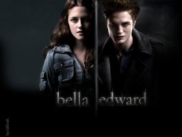 Edward and Bella by tiffcali06