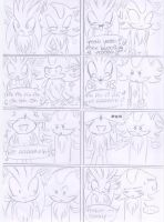 Shadow and Silver comic XD by kiiyup0p