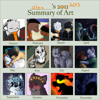 alex's 2013 summary of art by littledoge