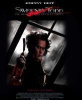 Sweeney Todd Movie Poster 3 by scionjon