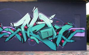 Meak 3D letter. by meak-one