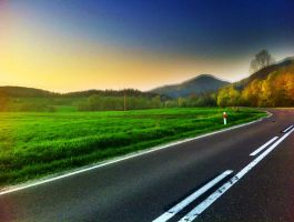 On the road 11 by Fursik