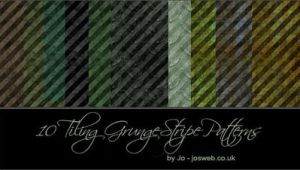 Tiling Grunge Stripe Patterns by gojol23