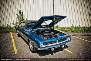 1970 plymouth cuda by AmericanMuscle