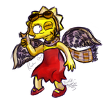 Another winged Lisa pic, by Tigersrock144
