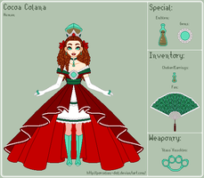 SMB - Cocoa Reference Sheet by porcelian-doll
