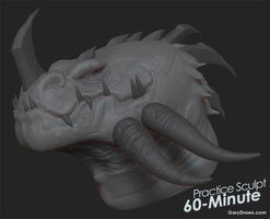 Red Dragon 2 - 60-Minute Practice Sculpt by GaryStorkamp