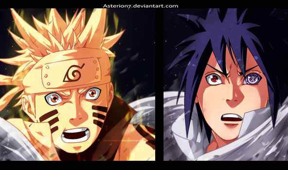 Naruto vs Sasuke 689 Remake by Asterion7 by Asterion7