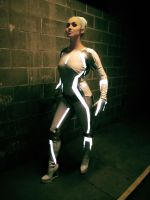 Gem from Tron: Legacy Cosplay (Kumoricon 2012) by Emmzles
