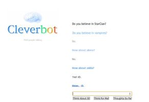 Cleverbot 1 by SunnyBlub